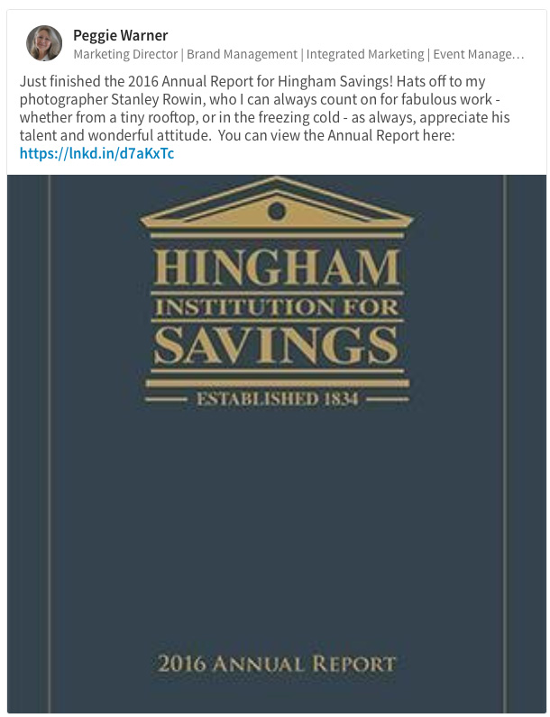 Hingham Savings Annual Report