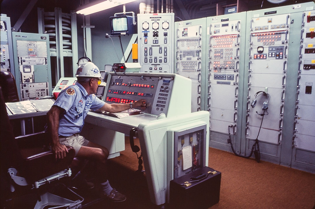 Launch control center equipment, Titan II Missile Bunker