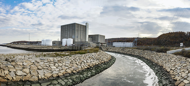 Pilgrim Nuclear Power Plant Panorama