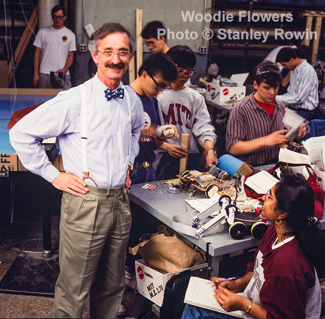 Woodie Flowers at MIT, 270 competition