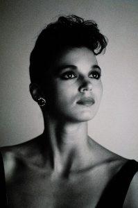 Fashion Photography on Polaroid Polapan Instant Developing Black and White Slide Film