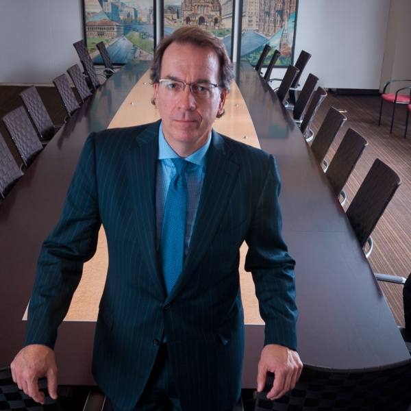 CEO in Boardroom: Boston Annual Report Photography