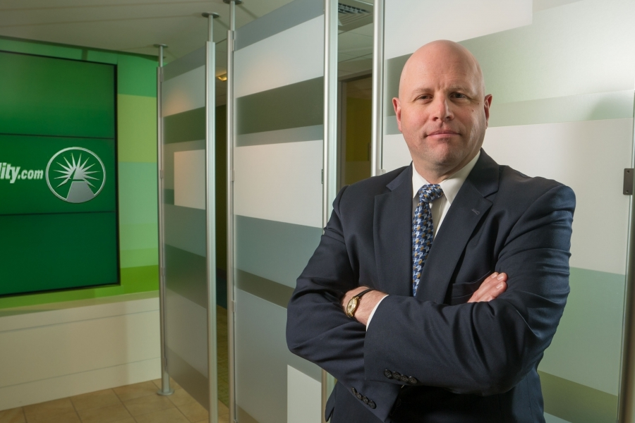 Steve Patterson Executive VP Fidelity Investments for for Pensions & Investments Magazine
