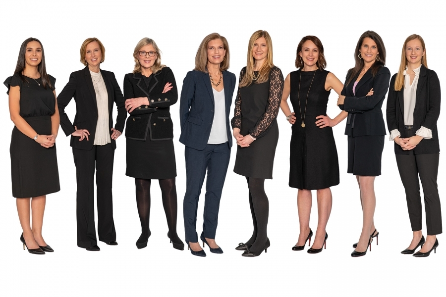 Group of Professional Women Photographed for Advertising Campaign