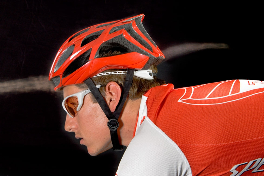 Specialized Bike: Bike Helmet Being Tested in MIT Wind Tunnel