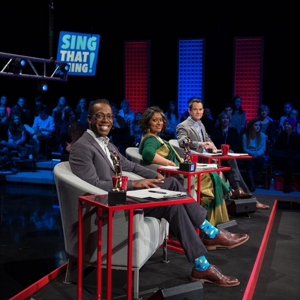 Cast of WGBH Sing That Thing